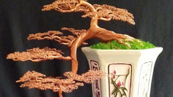 Cách làm cây bonsai bằng dây đồng, dây kẽm và dụng cụ
